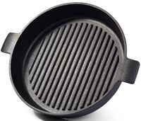Сковорода-гриль чугунная, 26 см (арт. 4072)