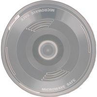 Крышка для микроволновой печи пластмассовая (27х9 см)