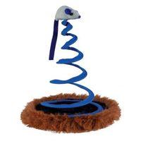 """Игрушка для кошек """"Мышка на пружине"""" (диаметр 20 см)"""