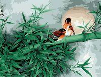 "Картина по номерам ""Бамбук с воробьями"" (500x650 мм; арт. MMC040)"