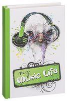 """Блокнот """"My music life"""" (А6)"""