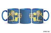 """Кружка """"Fallout"""" (голубая; арт. 1928)"""