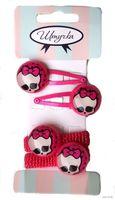 """Набор аксессуаров для волос """"Monster High"""" (4 шт.; арт. 83Н)"""