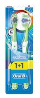"Зубная щетка ""Oral-B Complete. Пятисторонняя чистка"" (средней жесткости, 2 шт.)"