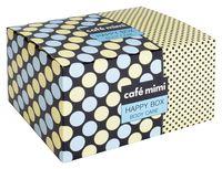 """Подарочный набор """"Happy Box"""" (молочко, мыло, соль для ванны, мочалка)"""