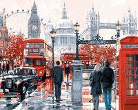 "Картина по номерам ""Лондон"" (400х500 мм)"
