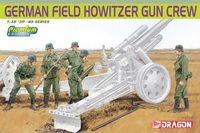 "Набор миниатюр ""German Field Howitzer Gun Crew"" (масштаб: 1/35)"