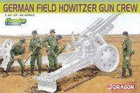 "Набор миниатюр ""German Field Howitzer Gun Crew"" (масштаб: 1/35)"