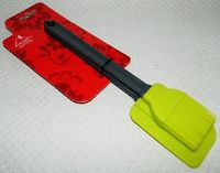 Набор кухонных принадлежностей силиконовых с пластмассовыми ручками (2 предмета; арт. SE-349T)