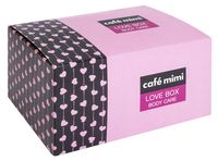 """Подарочный набор """"Love Box"""" (крем, мыло, соль для ванны, мочалка)"""
