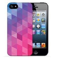 """Чехол для iPhone 5/5S """"Vivid"""" (фиолетовый)"""