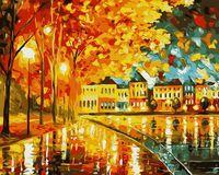 """Картина по номерам """"Осеннее настроение"""" (400х500 мм)"""