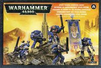 "Набор миниатюр ""Warhammer 40.000. Space Marine Command Squad"" (48-17)"