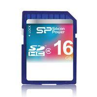 Карта памяти SDHC 16Gb Silicon Power Class 4