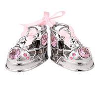"""Миниатюра """"Baby туфельки"""" (с розовыми кристаллами)"""