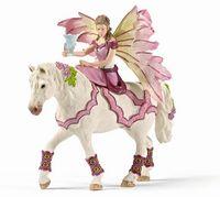 """Фигурка """"Фея в праздничном одеянии на коне"""""""