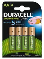 Аккумуляторы никель-металлгидридные Duracell AA HR6 2400mAh (4 шт)