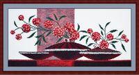 """Набор для вышивания """"Композиция с вазами"""" (400х200 мм; арт. 604В)"""