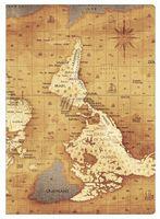 """Обложка на паспорт """"География"""""""