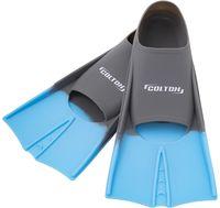 Ласты тренировочные CF-01 (р. 39-41; серо-голубые)