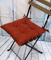 """Подушка на стул """"Velours. Rust"""" (42х42 см)"""