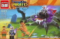 """Конструктор """"Legendary Pirates. Ядовитый паук"""" (73 детали)"""