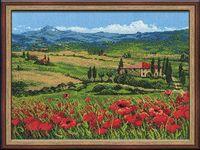 """Вышивка крестом """"Тоскана"""" (400х300 мм)"""