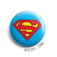 """Значок маленький """"Супермен"""" (арт. 988)"""