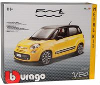 "Модель машины ""Bburago. Kit. Fiat 500L"" (масштаб: 1/24)"