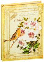"""Ежедневник недатированный """"Орхидеи и птица"""" (А5, 240 страниц)"""