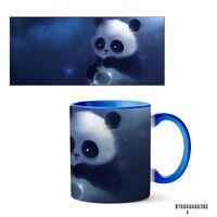 "Кружка ""Панда"" (392, голубая)"