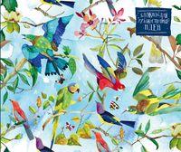 """Блокнот для художественных идей """"Райские птицы от дизайнера Карины Кино"""" (240х200 мм)"""