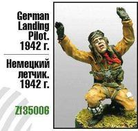 "Миниатюра ""Немецкий летчик. 1942г."" (масштаб: 1/35)"
