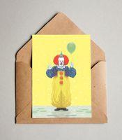 """Открытка """"Клоун"""" (233)"""