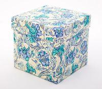 "Подарочная коробка ""Flowers"" (11х11х11 см)"