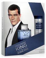 """Подарочный набор """"King of seduction"""" (туалетная вода, дезодорант)"""
