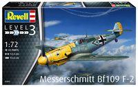 """Сборная модель """"Истребитель Messerschmitt Bf109 F-2"""" (масштаб: 1/72)"""