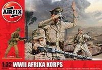 """Набор миниатюр """"Немецкий Африканский корпус"""" (масштаб: 1/32)"""