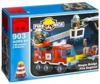 """Конструктор """"Fire Rescue. Пожарная машина с 2-мя фигурками"""" (130 деталей)"""