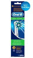 """Насадка для электрической зубной щетки """"Oral-B CrossAction EB50-3"""" (3 шт)"""
