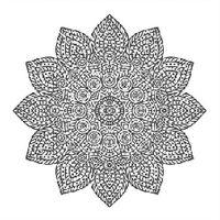 "Холст на подрамнике с эскизом ""Мандала"" (300х300 мм; арт. 1411166)"
