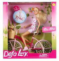 """Игровой набор """"Люси на велосипеде"""""""