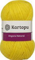 """Пряжа """"KARTOPU. Angora Natural №K1321"""" (100 г; 530 м; желтый)"""