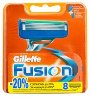 Кассета для станка Gillette Fusion (8 шт)