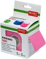 """Кинезио тейп """"Physio Tape"""" (розовый)"""