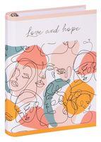 """Тетрадь со сменным блоком """"Love and Hope"""" (120 листов)"""