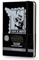 """Еженедельник Молескин """"Star Wars"""" на июль 2014 - декабрь 2015 гг. (карманный; твердая черная обложка)"""