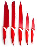 """Набор ножей металлических с пластмассовыми ручками """"Symbio"""" (5 шт, арт. 25LI008105R)"""