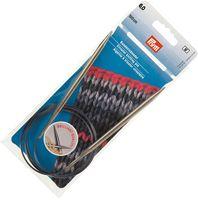 Спицы круговые для вязания (латунь; 6 мм; 100 см)