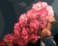 "Картина по номерам ""Мифология женской красоты. Любовь"" (400х500 мм)"